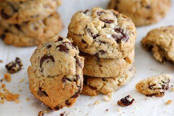 עוגת בננות מהירה וקלה עם שקדים, שוקולד וקינמון - עוגיו.נט