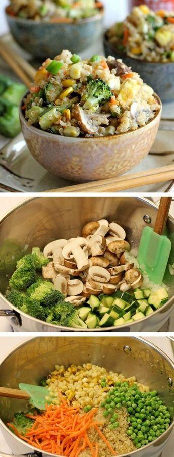 Les plus délicieuses recettes saines pour votre menu équilibré!