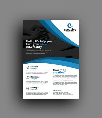 Riga Elegant Professional Business Flyer Template - Graphic Templates