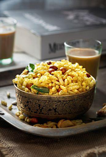 Murmure Namkeen Recipe | Murmura Chivda | Salted Puffed Rice