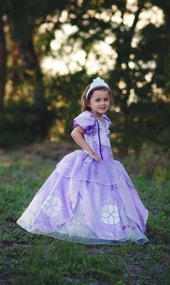 2284df15e05 Sofia Dress Disney Princess Inspired Sofia the First Costume - Kids, Girls,  Todd Disney