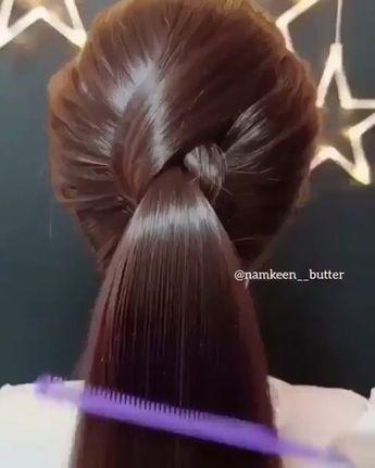 """9,272 Me gusta, 89 comentarios - Miss gorgeous 💄💅🏼💇🏻 (@beauty4everblog) en Instagram: """"Very quick & nice hairstyle 💘😍 تسريحة سريعة Tag your friends 👯♀️ #repost follow @beauty4everblog…"""""""