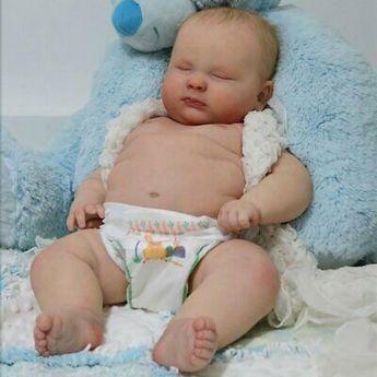 "Details about Realborn® 3 Month Joseph Sleeping (23"" Reborn Doll Parts Kit) DIY"
