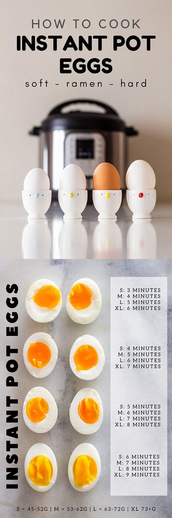 Making Instant Pot eggs is incredibly easy! We'll show you how to make perfect soft boiled eggs, hard boiled eggs, and ramen eggs in a pressure cooker!