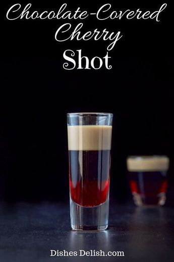 Chocolate Covered Cherry Shot