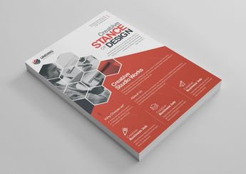 Stunning Professional Business Flyer Design Template - Graphic Templates