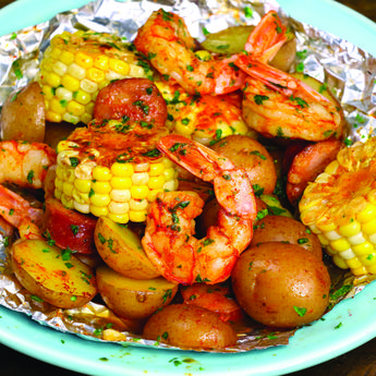 EASY MEDITERRANEAN SHRIMP RECIPE