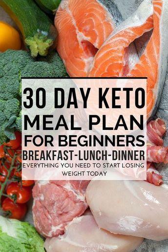 90 Keto Diet Recipes For Breakfast, Lunch & Dinner! Ketogenic 30 Day Meal Plan