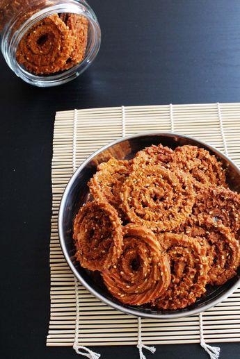 Chakli Recipe (Wheat flour Chakli)