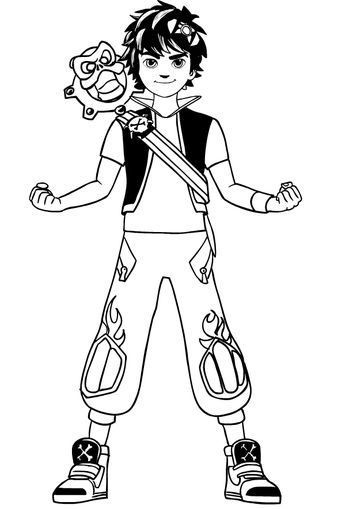 List Of Zak Storm Coloriage Image Results Pikosy