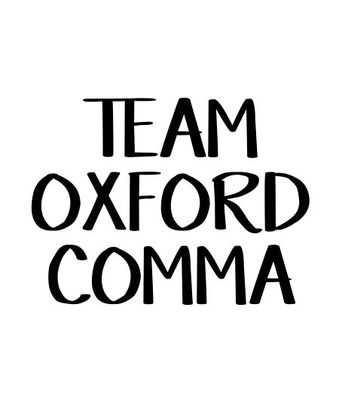 Team Oxford Comma | Poster