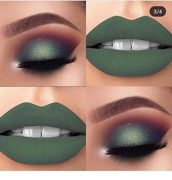 Awesome olive makeup idea