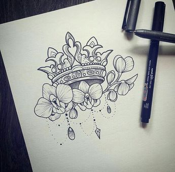 I absolutely love this! I think I need something like this on my upper arm. But with something else than the crown