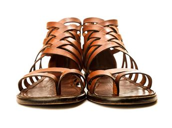 ccc27e932b7e Gladiator Sandals by Miramare Italia. Good looking but to e