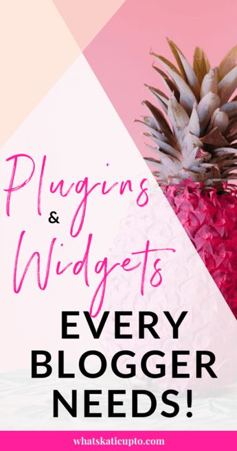 "The Difference between a WordPress ""Widget"" and ""Plugin"" - Katie Grazer Blog"