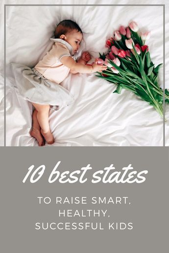 The Best States For Raising Smart, Healthy, Successful Kids