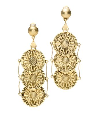 FOUNDATION COIN EARRING