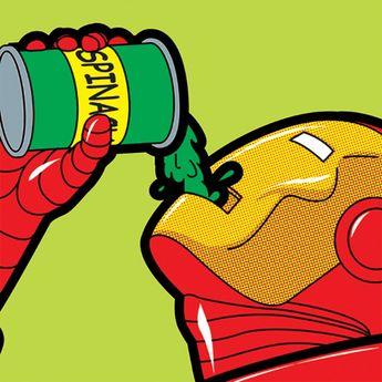 Iron man des années 50