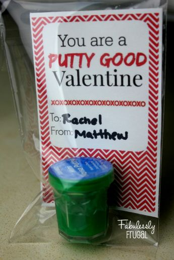 DIY Valentine: Mini Noise Putty Card
