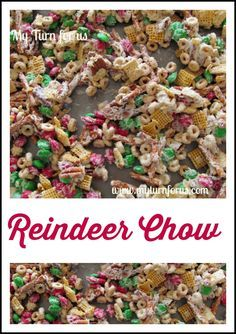 Christmas Chex Mix or Reindeer Chow