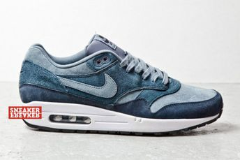 sports shoes de03a 807d8 Nike Air Max 1 Blue Suede
