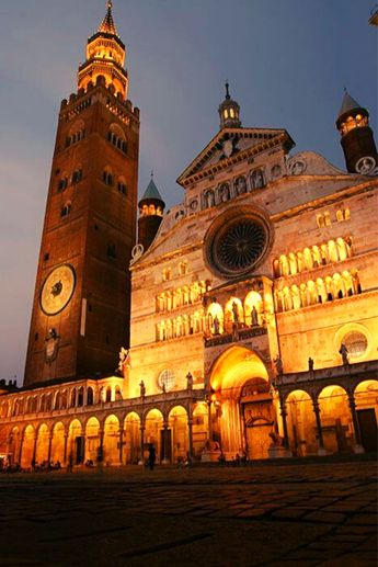 A Bela Catedral de Cremona...