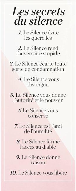 Le Silence est d'Or ,voire de Platine  ! !