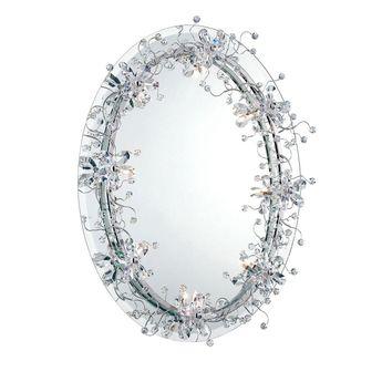 Eurofase Relic Collection 8-Light Chrome Mirror