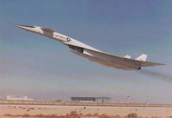 North American XB-70 Valkyrie   Flying in the Spirit