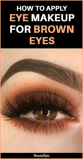 Eye Makeup For Brown Eyes - Tips and Tricks