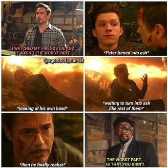 In Infinity War, Tony's worst nightmare came true.