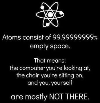 Vide des atomes