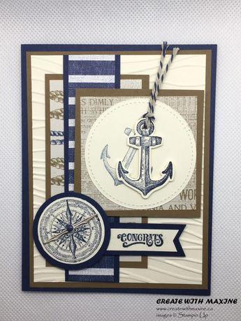 Sailing Home Card Tutorial