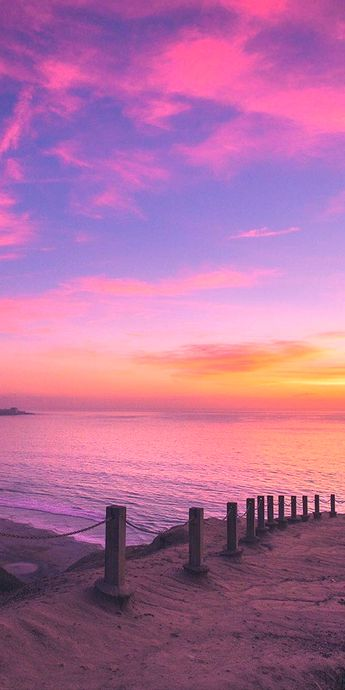 Pic of the Day…Cotton Candy Skies 💗💗💗 --------------- #beach #sunset #sunsets #sundown #tropics #beaches