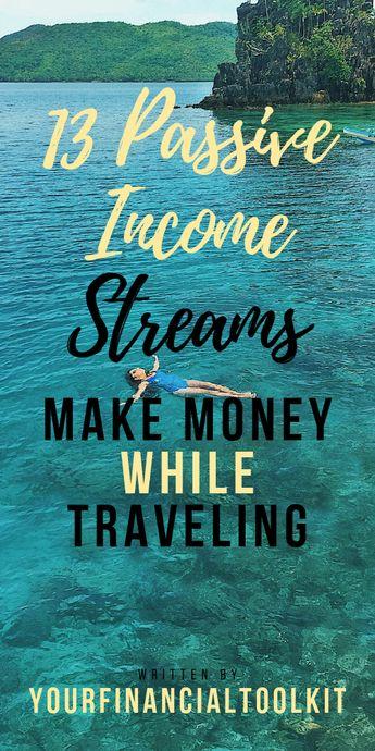 13 Passive Income Streams