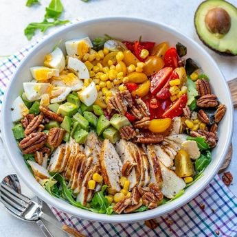 Grilled Chicken Salad + Homemade Sweet Onion Dressing