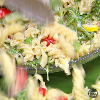 How To Make Lemon Fusilli with Arugula