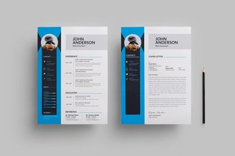Clean Modern Resume Design 002742 - Template Catalog