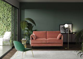 Canapé Convertible avec un design unique et un confort exceptionnel, facile d'ouverture avec son système Rapido®. Vous pourrez le personnaliser avec un grand choix de revêtements et de coloris.