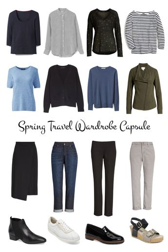 Mapping Out A Spring Travel Wardrobe