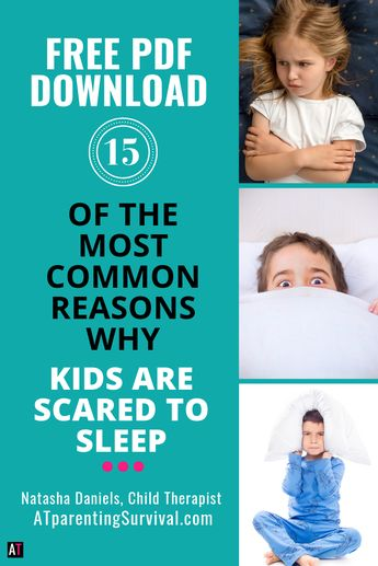 Free PDF: 15 of Some of the Most Common Reasons Why Kids are Scared to Sleep