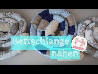 Nähanleitung nestchen für das babybett
