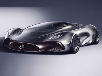 Mercedes Hybrid Supercar Concepts