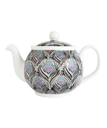 Caesar Liberty Print Teapot: Stylish teapot by Liberty of London.