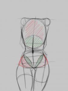✍ Como dibujar cuerpo anime en 8 pasos.  Tutorial |  Dibujo Anime