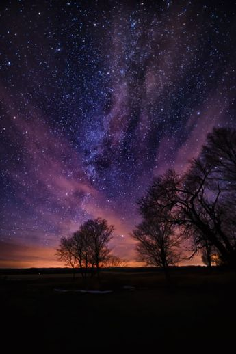 Milky Way and Cirrus Clouds