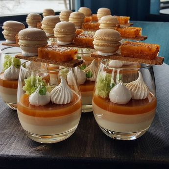 Cloudberry, Thyme and Vanilla #patisserie #dessert #dessertmasters #pastrychef #pastry