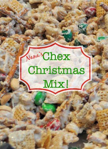 Nana's Chex Chocolate Mix