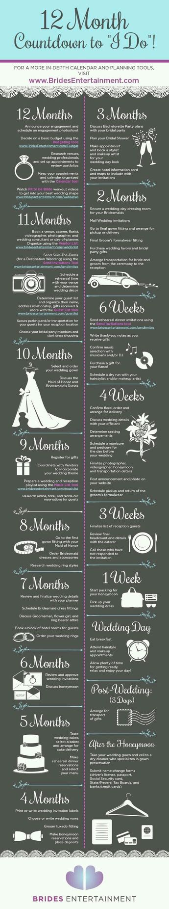 10 Useful Wedding Planning Infographics to Give Some Ideas and Tips