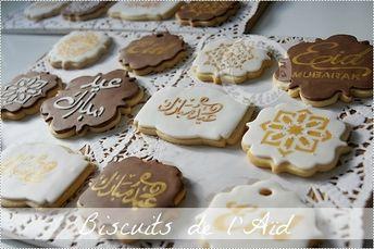 Biscuits vanillés décorés pour l'Aïd - Les douceurs de Mina